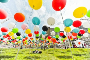 balloons field of possibilities